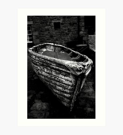 Old Boat Art Print