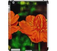 Orange Queen Globe Flower iPad Case/Skin