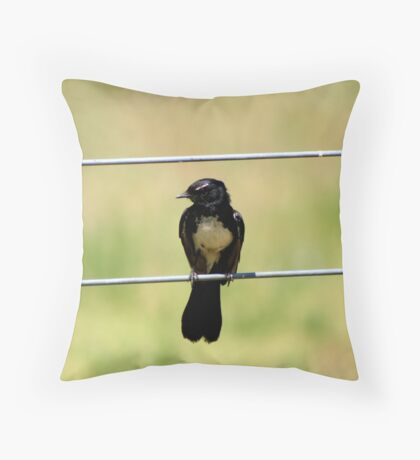 Willy Waits Throw Pillow