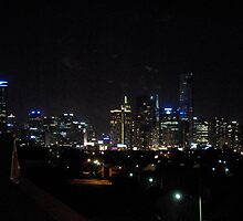 Melbourne Nightscape by Borth
