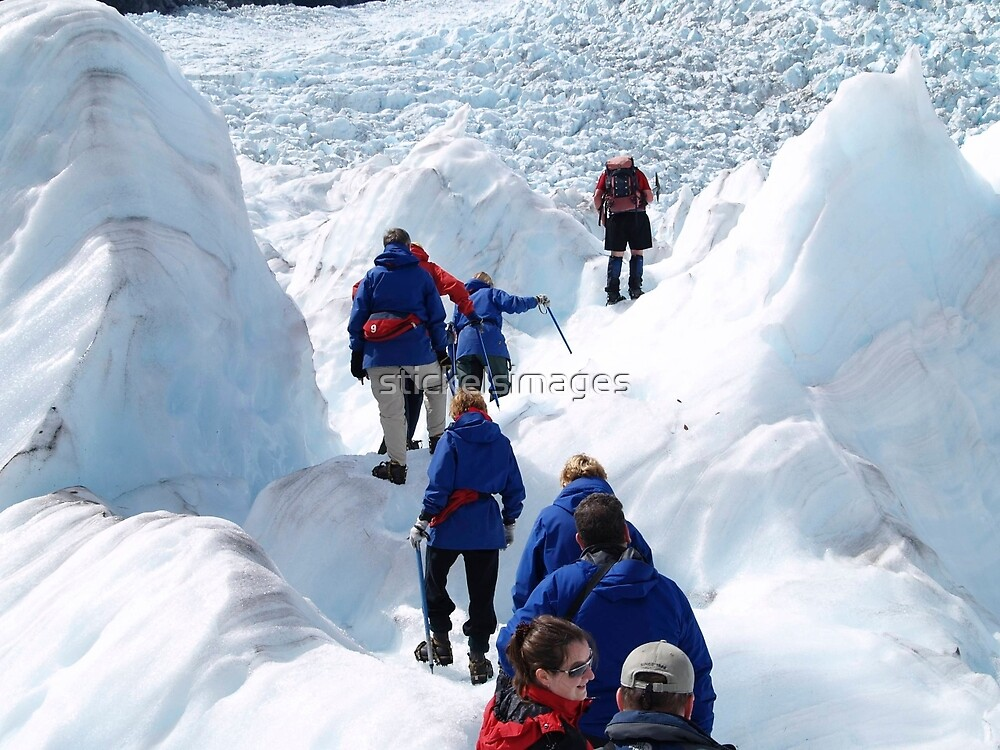 glacier climb    by stickelsimages