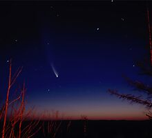 McNaught comet over Shipleys Plateu by Colin12