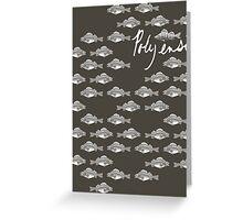 Counting Fish Greeting Card