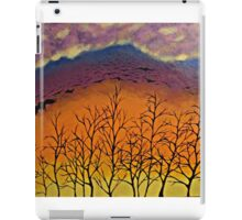 Murder in the sky iPad Case/Skin