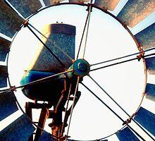 Outback Windmill by Stephen Kilburn