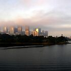 Sydney in Fog by Stephen Kilburn