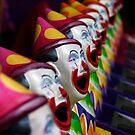 Ha Ha said the Clown by Clare Colins