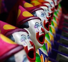 Ha Ha said the Clown by Clare Colins