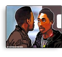"""HE WANTED ALL THE JUICE!""  Canvas Print"