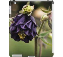 Purple Columbine iPad Case/Skin