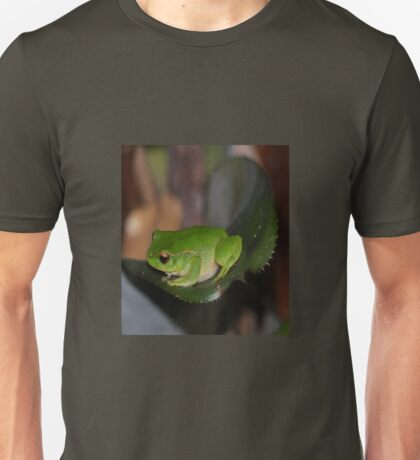 The Australian Green Tree Frog   Unisex T-Shirt