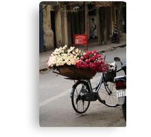 basket of roses : 1189 views Canvas Print