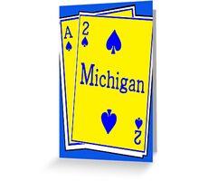 A-SQUARED: ANN ARBOR, MICHIGAN Greeting Card
