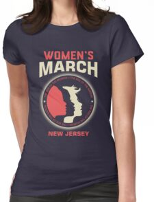 Women's March NEW JERSEY Womens Fitted T-Shirt