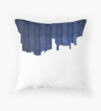 Cut Paste Save Post Throw Pillow