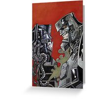 Transformers Goodbye Prime Greeting Card