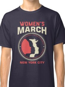 Women's March NEW YORK CITY Classic T-Shirt