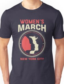 Women's March NEW YORK CITY Unisex T-Shirt