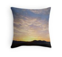Sunrise from Mt Blowhard Throw Pillow