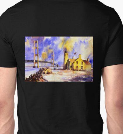 Mackinac Island- Lake Michigan.  Watercolor painting Unisex T-Shirt