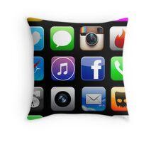 N-APP Time Full Colour Throw Pillow
