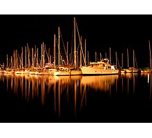 Yachts in Sandy Bay Photographic Print