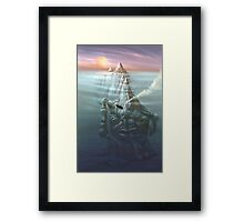 Creature in Repose Framed Print