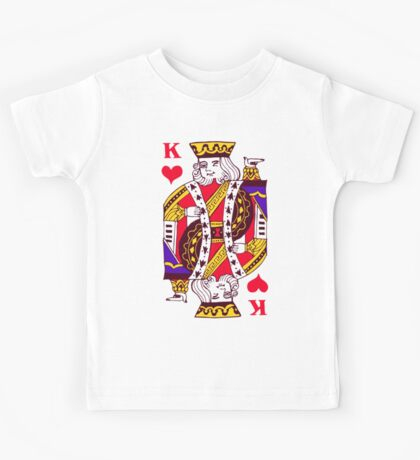 king of hearts Kids Tee