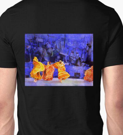 Dancers- Guadalajar, Mexico.  Watercolor painting. Unisex T-Shirt