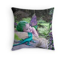 Lizard Gully Throw Pillow