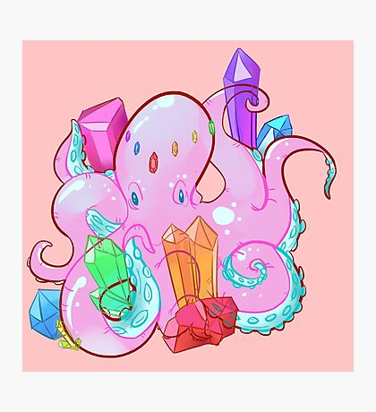 Crystal Octo Photographic Print