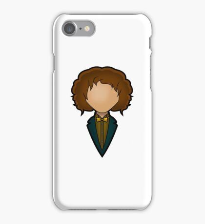 Eighth Doctor - Paul McGann iPhone Case/Skin