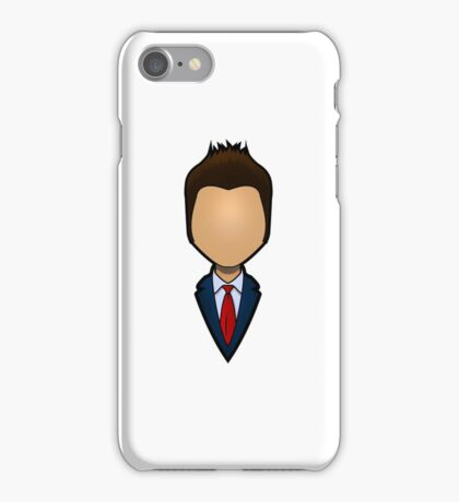 Tenth Doctor - David Tennant iPhone Case/Skin