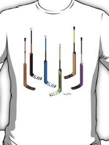 Goalie Hockey Sticks T-Shirt