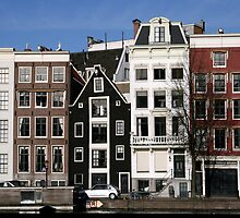 Houses of Amsterdam by Akira