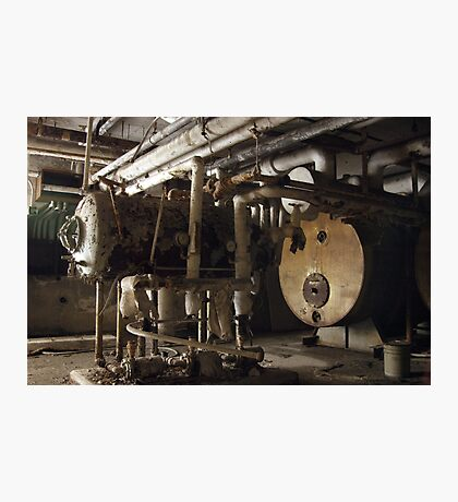 Pipes and Pumps Photographic Print