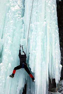 Ice Climber by Jason Ross