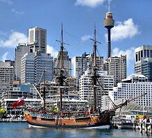 Tall Ship by Steven  Agius