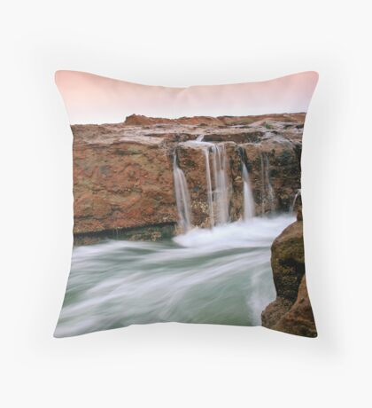 Beach Morning 5 Throw Pillow