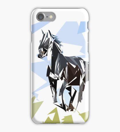 Cheval noir iPhone Case/Skin