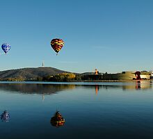 Balloons over Canberra by Stephen Colquitt