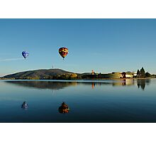 Balloons over Canberra Photographic Print