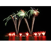 Fire works display Photographic Print