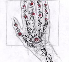 hand: Art novue style by wyvex