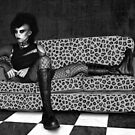 Reclining Goth by Ivy Izzard