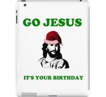 JESUS BIRTHDAY CHRISTMAS iPad Case/Skin