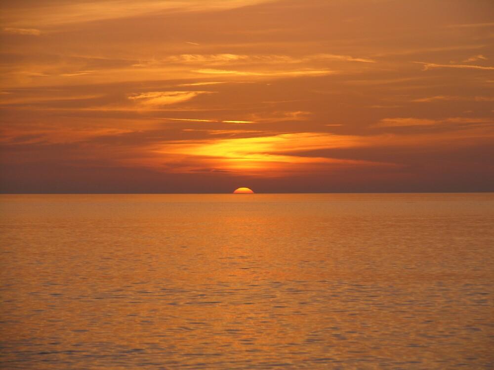 Silky Sunset by Jeremy Mawson