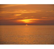 Silky Sunset Photographic Print