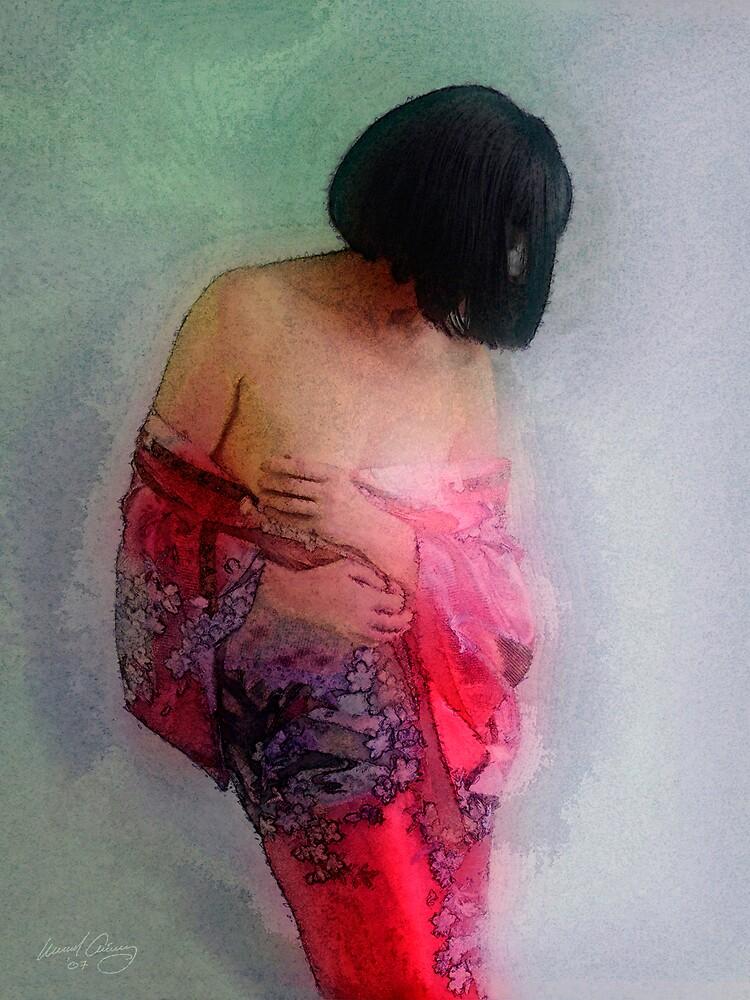 Kimono's Embrace #1 by Michael Critchley