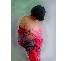Kimono's Embrace #1 Photographic Print